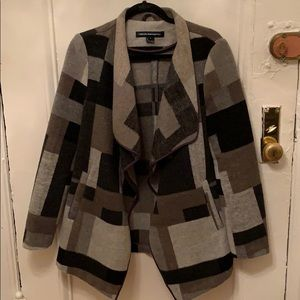French Connection Wool Blend Coat